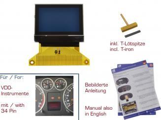 gearworks Display f/ür Seat Leon//1M1//Toledo//II//1M Klimabedienteil Reparatur