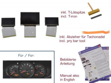 set displays f r porsche 911 996 boxster 986. Black Bedroom Furniture Sets. Home Design Ideas