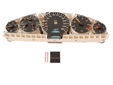 Display für Mercedes SL R129 ab '95 Kombiinstrument KM Anzeige   günstig online kaufen