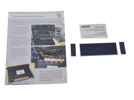 Porsche 911 996 and Boxster 986 Climate Control screen repair kit