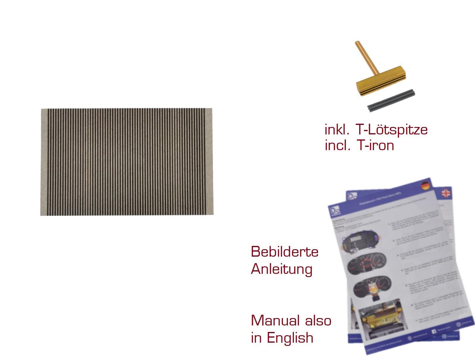 Leiterfolie für Betriebsstundenzähler/Stundenzähler Traktormeter 64Pin