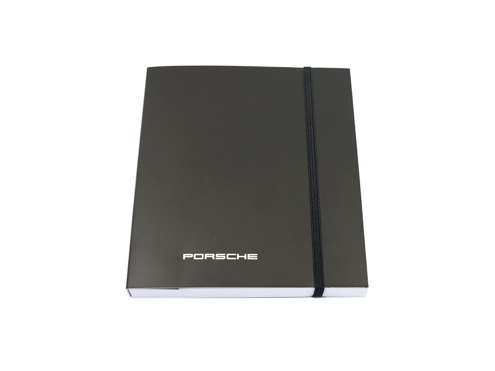 Original Notizbuch für Porsche 911/928/944/996 mit Kugelschreiber