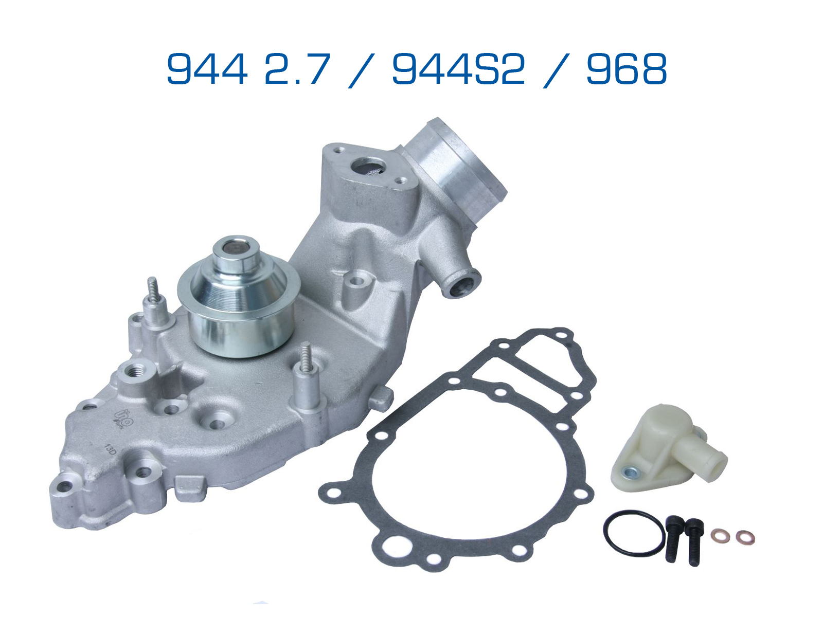 BRAND NEW ENGINE WATER PUMP /& GASKETS FOR PORSCHE 911 BOXSTER CARRERA